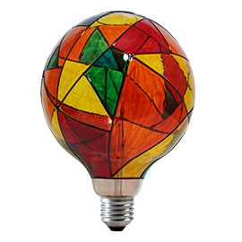 LF-G125HP-4W_2 Hand-paint filament bulb