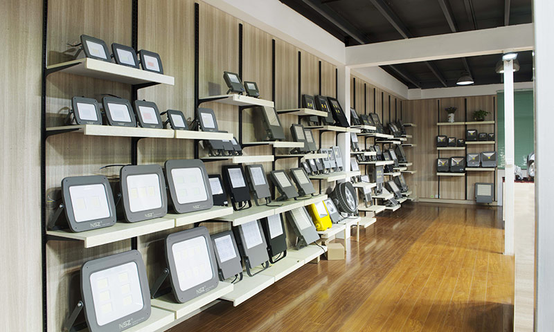 flood light showroom