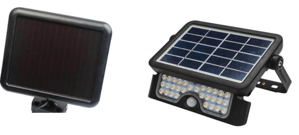 Amorphous and silicone solar panels