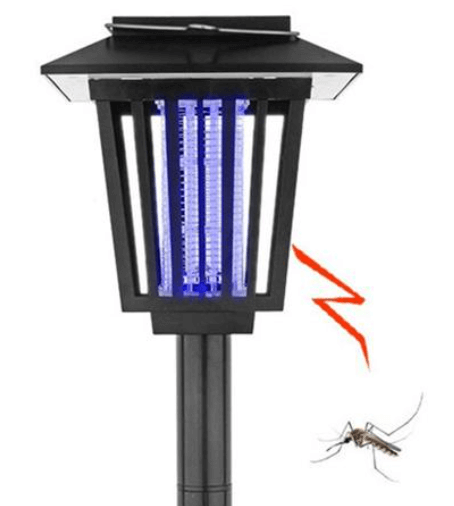 Insect zapping path light