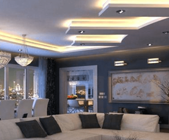 LED tube lights in a home