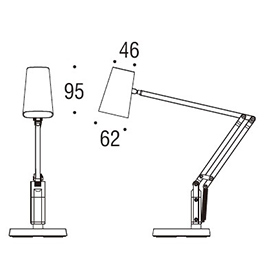 TLE-504W Desk Lamp